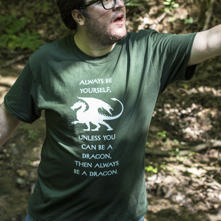 Always Be a Dragon T-shirt Image